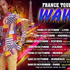 Wawa France tour 2016 /  Lyon 07 Octobre