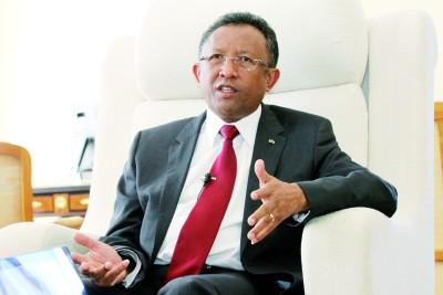 madagascar-INTERVIEW : HERY RAJAONARIMAMPIANINA Président de la République de  Madagascar