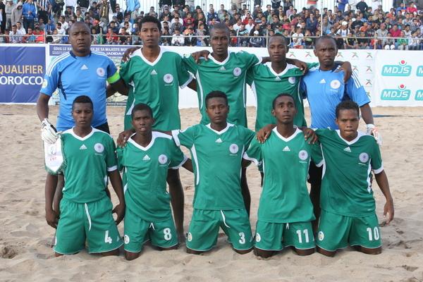 madagascar-Beach Soccer : Madagascar vainqueur du Ghana et leader