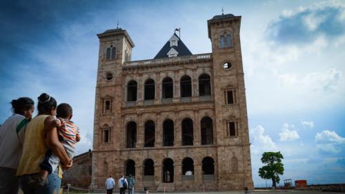 madagascar-La difficile réhabilitation du palais de la reine
