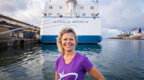 madagascar-Sandra Berclaz a passé cinq mois à Madagascar à bord d'un navire-hôpital