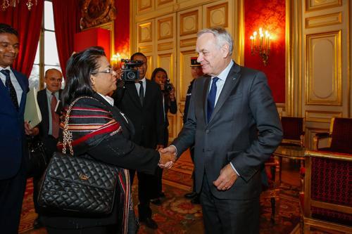 madagascar-Madagascar - Entretien de Jean-Marc Ayrault avec son homologue (Paris, 4 mars 2016)