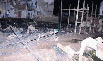 madagascar-Campement des sinistrés de l'incendie d'Ankasina: le gouvernement au petit soin