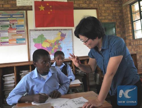 madagascar-Des écoles secondaires en Afrique enseignent le chinois