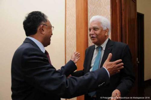 madagascar-Le Secrétaire général de la COI en visite à Madagascar