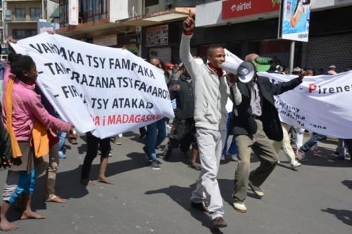 madagascar-Madagascar : La manifestation anti-pouvoir muselée