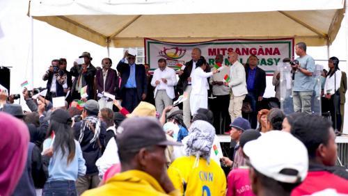 madagascar-Madagascar: franc succès pour la nouvelle plate-forme d'opposition au gouvernement
