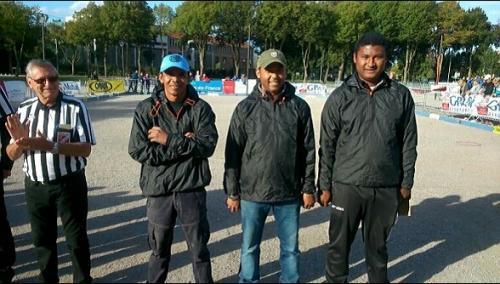 madagascar-National de pétanque d'Amiens gagné par une triplette malgache