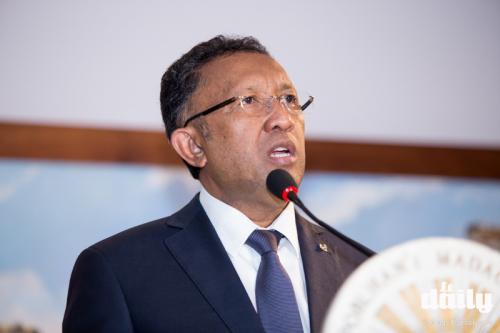 madagascar-Hery Rajaonarimampianina inaugure le Port d'Ankify