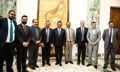 madagascar-La Présidence de Madagascar reçoit la Confederation Of India Industry (CII)