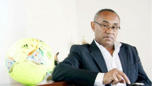 madagascar-Ahmad Ahmad. Président de la Fédération malgache de football: ll n'y a que moi qui ose me présenter contre M. Hayatou