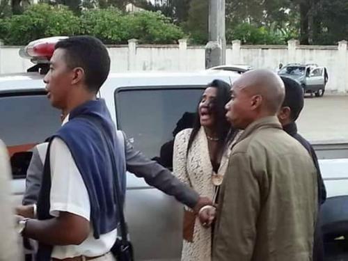 madagascar-Arrestation à Mahamasina