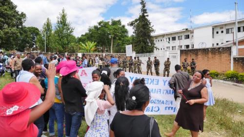 madagascar-Madagascar: première nuit en détention provisoire pour «Madame Claudine»