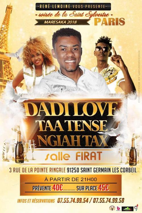 madagascar-Dadi Love Paris 31/12/2017