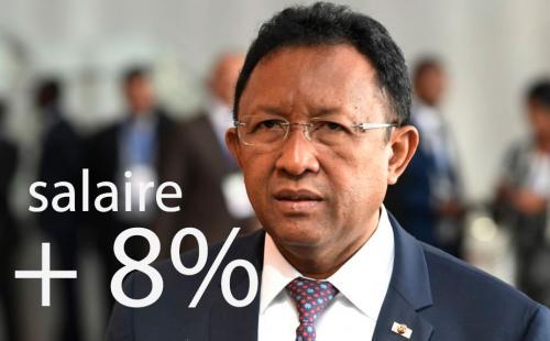madagascar-Hausse des salaires : la loi des finances 2018 prévoit 15% dès les mois de Janvier