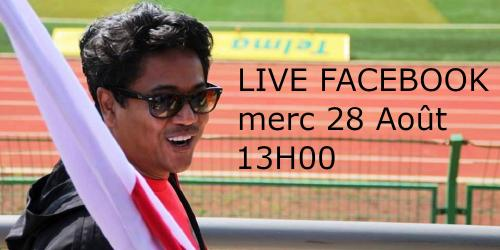 LOVA RASAMIMANANA sera en direct Facebook